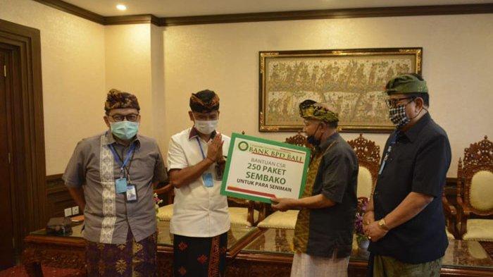 Cok Ace Apresiasi BPD Bali dan Bank Mandiri Berikan Bantuan kepada Seniman Terdampak Covid-19