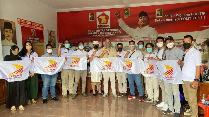 Lakukan Restrukturisasi, Tidar Bali Siap Jadi Garda Terdepan Pemenangan Gerindra di Pemilu 2024