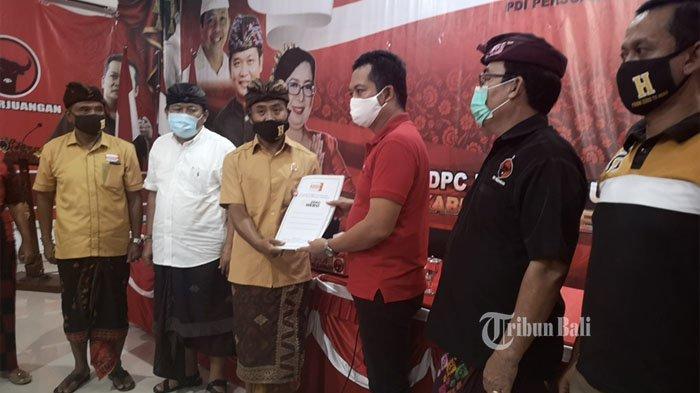 DPD Hanura Bali Resmi Serahkan Rekomendasi ke Paket Kembang-Sugiasa di Pilkada Jembrana 2020