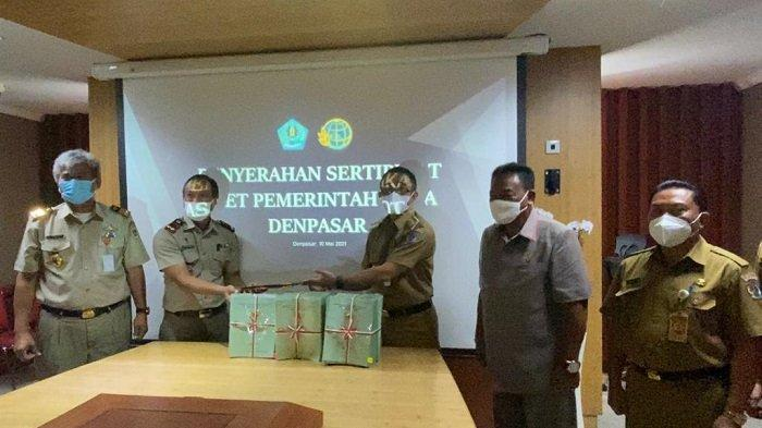 Terima 400 Sertifikat Tanah Aset Pemkot Denpasar, Jaya Negara Minta Lahan untuk Pembuatan TPA