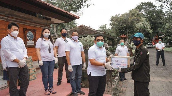 Cegah Penyebaran Covid-19, ITDC Beri Bantuan Disinfektan pada Tenaga Kebersihan dan Keamanan
