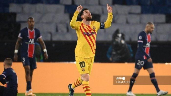 Valencia Vs Barcelona, Barca Menang Lagi, Lionel Messi Dekati Rekor Diego Maradona