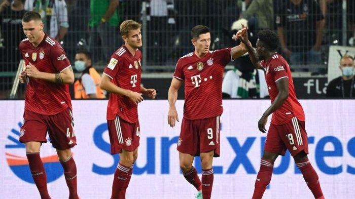 HASIL Bundesliga Bayern Muenchen Vs Moenchengladbach: Lewandowski Bikin Rekor, Die Roten Tertahan