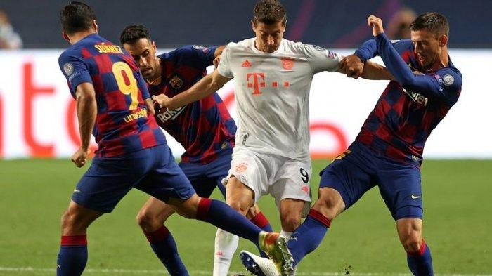 JADWAL Liga Champions Dini Hari Nanti: Barcelona Vs Bayern Muenchen, Hapus Memori Buruk Tanpa Messi
