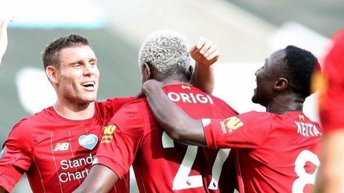 Newcastle Vs Liverpool, The Reds Torehkan 99 Poin dan Pecahkan Rekor Klub