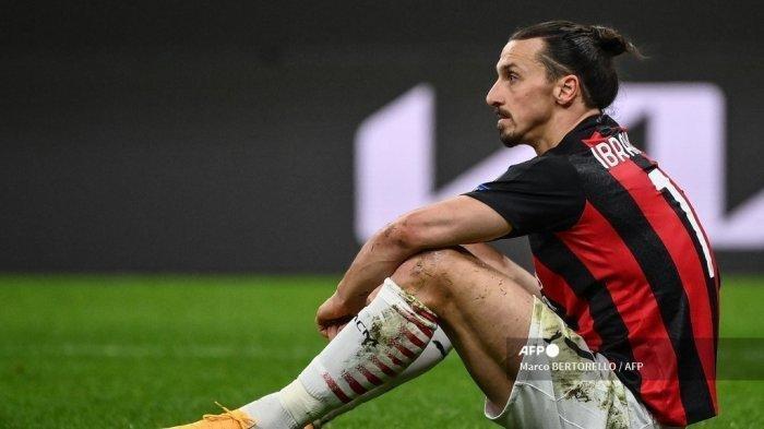Zlatan Ibrahimovic Telan Kekecewaan Besar Usai AC Milan Disingkirkan Man United