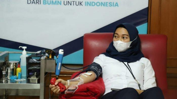 PT Angkasa Pura I Kantor Cabang Bandara I Gusti Ngurah Rai Dukung Program Donor Plasma BUMN