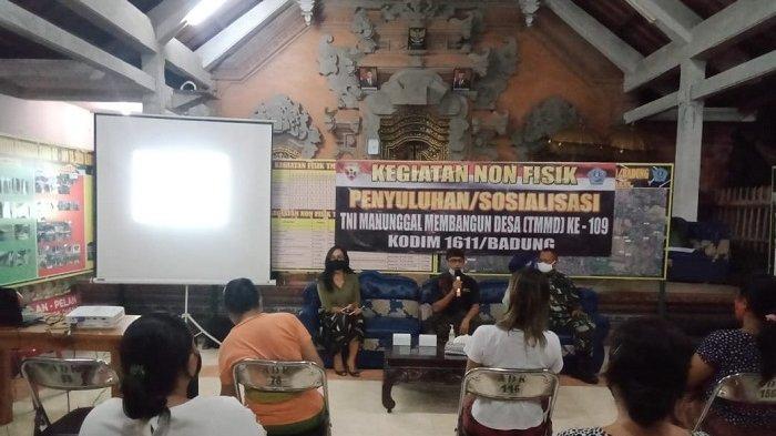 Warga Desa Kesiman Kertalangu Selami Pentingnya Kesehatan dan KB di Tengah Pandemi Covid-19
