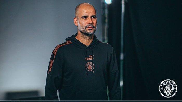 Pep Guardiola pada sesi konferensi pers jelang laga antara Manchester City dan Chelsea pada Minggu (3/12/2020).