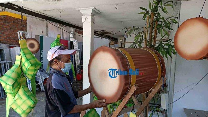 Jelang Lebaran 2021, Perajin Pernak-Pernik Idul Fitri di Kuta Bali Sepi Pesanan, Omzet Anjlok