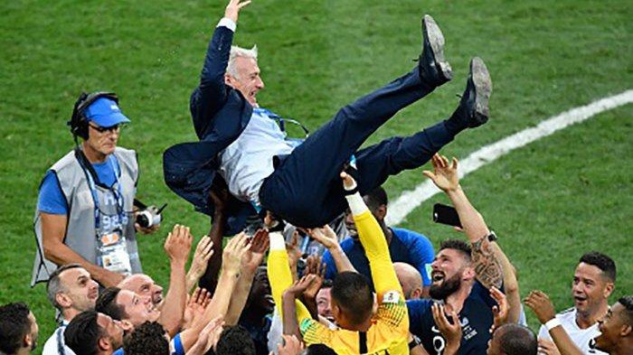Penantian 20 Tahun Prancis Raih Gelar Piala Dunia, Didier Deschamps Ukir Sejarah Les Blues