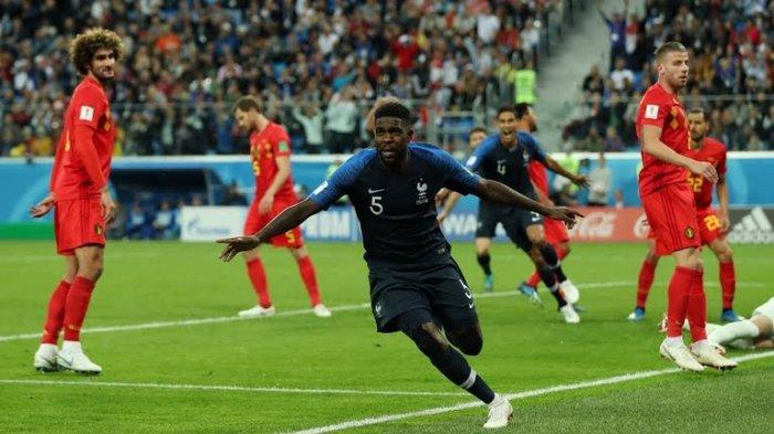 Kalahkan Belgia, Perancis Amankan Satu Tiket ke Final Piala Dunia 2018