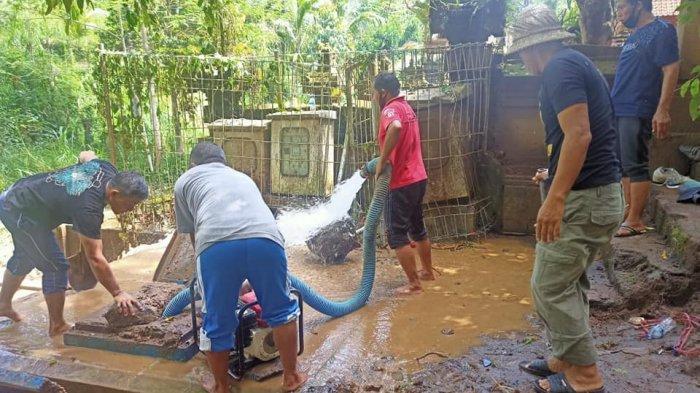 Pipa Transmisi Rusak Terkena Material Longsor, 8 Ribu Pelanggan PDAM di Bangli Terdampak