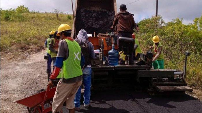 Dinas PU Klungkung Hanya Tangani 4 Ruas Jalan di Klungkung Tahun 2021, Semuanya di Nusa Penida