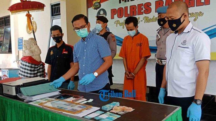 Mantan Pengemudi Ojol di Bangli Jual Uang Palsu Senilai Rp 14 Juta, Diedarkan di Sejumlah Wilayah