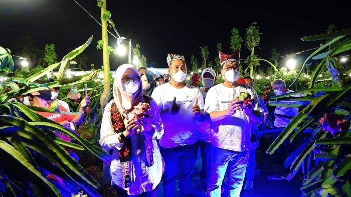 Bupati Banyuwangi Resmikan Kampung Naga Phonska Plus, Dorong Petani Lakukan Hilirisasi