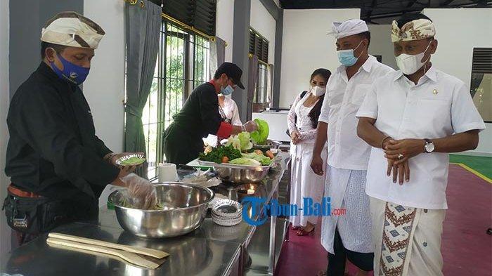 Tingkatkan Skill Kuliner Saat Pandemi, Anggota Komisi IX DPR RI Resmikan Gedung BLK di Klungkung