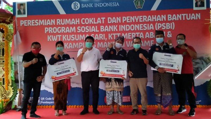 KPwBI Provinsi Bali ResmikanRumah CoklatKWT KusumaSari