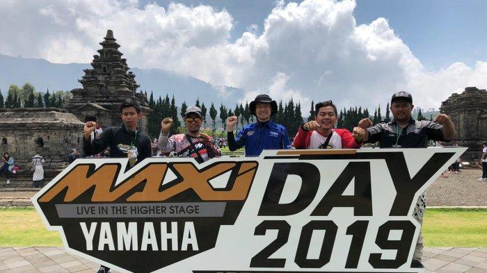 Meriahnya Perhelatan Akbar MAXI Yamaha Day di Dieng
