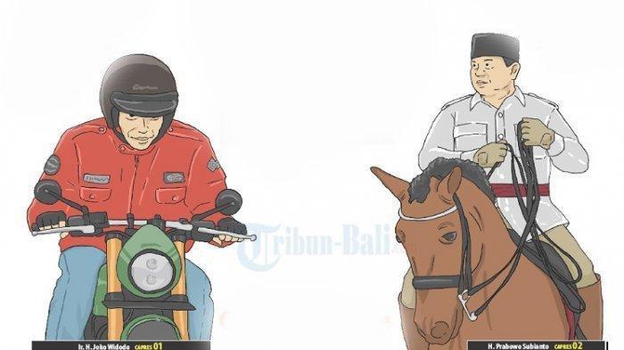 Jokowi-Amin Ungguli Prabowo-Sandi di Jepara, Jokowi-Amin 595.368 Suara, Prabowo-Sandi 114.668 Suara