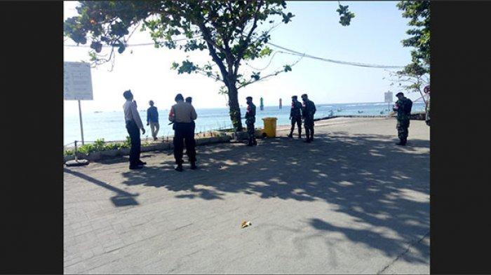 Petugas Gabungan Gelar Patroli, Ini Rute yang Dilalui Saat Penerapan PPKM Level 4 di Denpasar
