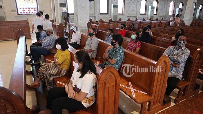 Gereja Katedral Denpasar Putuskan Tak Tambah Kuota Dalam Ibadah Natal 2020, Maksimal 500 Orang