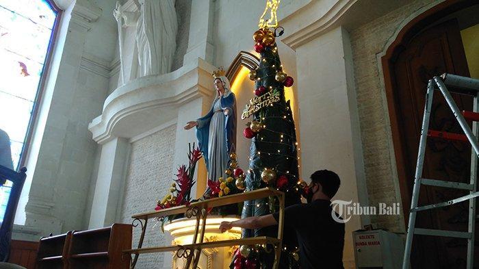 Gereja Katedral Denpasar Siap Laksanakan Ibadah Natal dengan Prokes Ketat, Jadwal Misa Ditambah