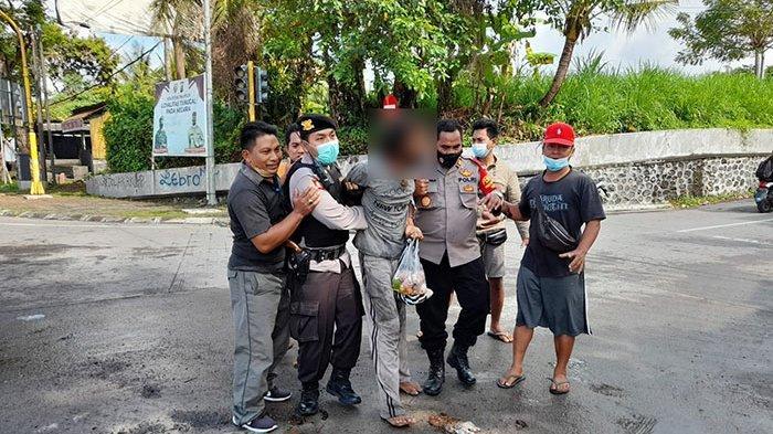 Sempat Serang Warga dengan Senjata Tajam, Polisi Amankan ODGJ di Banjarangkan Klungkung