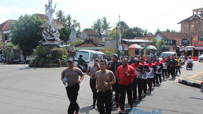 25 Polisi Perut BuncitIkuti Program Penurunan Berat Badan di Klungkung