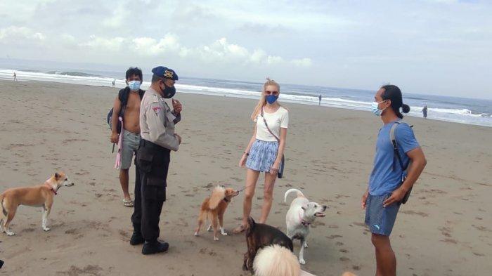DTW dan Pantai Dibuka Dengan Kapasitas 50 Persen, Polres Badung Mulai Perketat Pengawasan