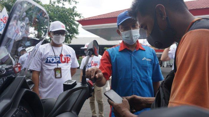 Budayakan Cashless Payment, Top Up Saldo MyPertamina Bisa Dilakukan di Seluruh SPBU se Bali
