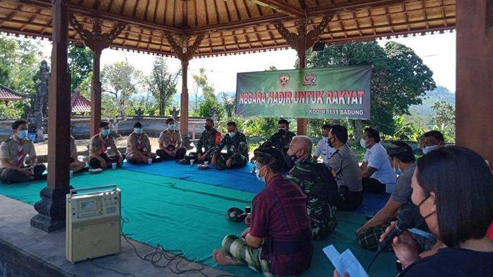Bantu Ketersediaan Air Bersih, TNI AD di Bali Segera Pasang Pompa Hidram di Desa Plaga Badung