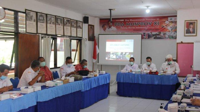 Pertemuan Perdana Pengurus PMI Bali 2020-2025, Tetap Eksis dalam Merespon Covid-19