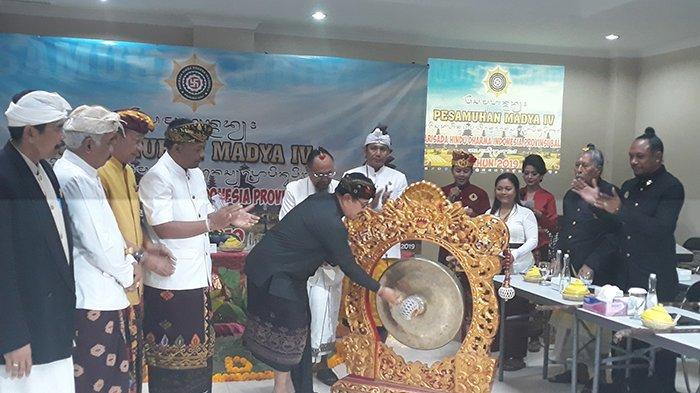 Waktu Pelaksanaan Nyepi 2020 Tumpang Tindih, IniDibahas dalam Pesamuhan Madya PHDI Bali