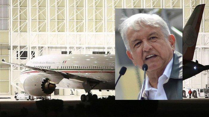 Pesawat Kepresidenan Simbol Kemewahan, Presiden Meksiko ...