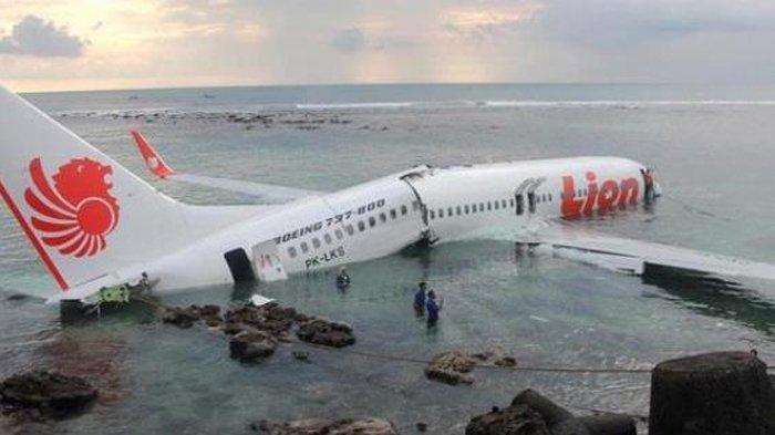 Hari Ini Dalam Sejarah: Deretan Fakta Jatuhnya Pesawat Lion Air JT 904 Enam Tahun Lalu di Bali