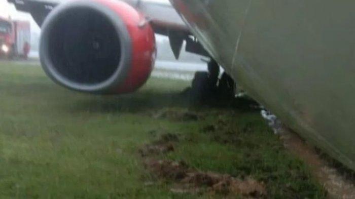 Pesawat Lion Air JT173 Tergelincir di Bandara Radin Inten II Bandar Lampung