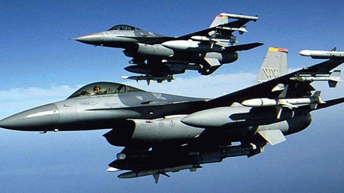Apes, Gelar Uji Latihan Jet Tempur F-16 Milik AU Belanda Tertembak Peluru Sendiri