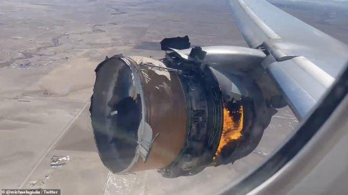 Pesawat Mendarat Darurat Lagi, Boeing 777 Dilarang Terbang Seluruh Dunia