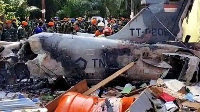 Ada Suara Dentuman Saat Pesawat TNI Jatuh di Pekanbaru, Awalnya Dikira Bom