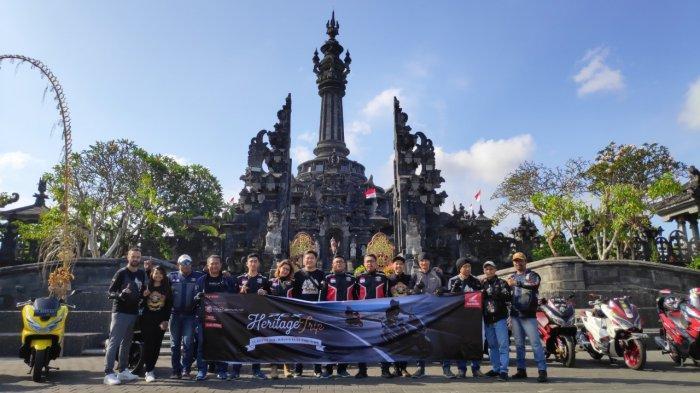 Astra Motor Bali Gelar PCX Heritage Trip Bersama HPCI