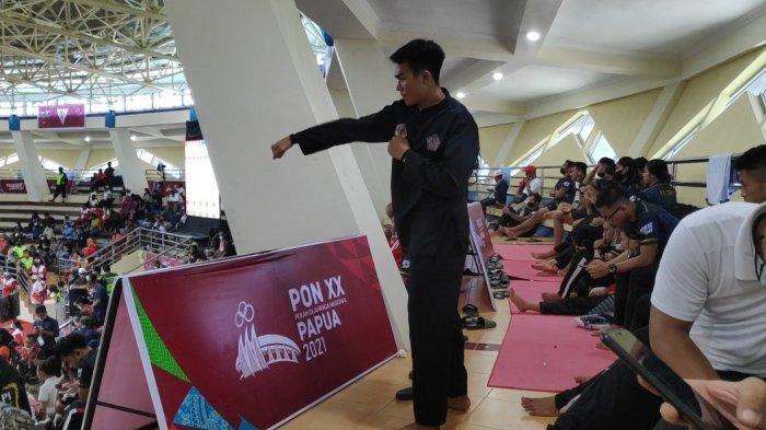 Takluk dari Jabar di PON XX Papua, Pesilat Bali Komang Harik Tetap Bersyukur Persembahkan Perak