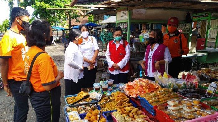 BBPOM Gelar Sidak Takjil ke Pasar Senggol Amlapura Karangasem