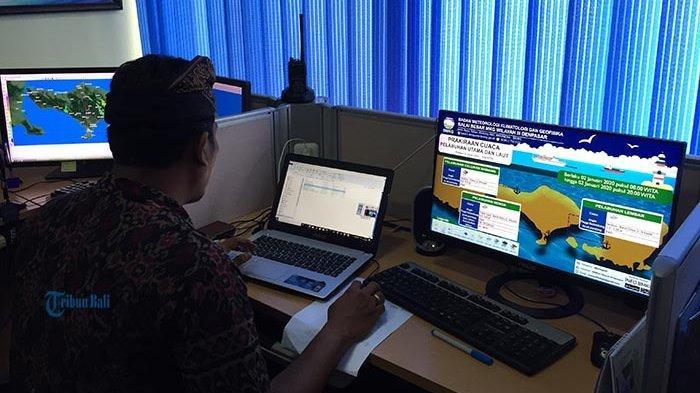 BMKG Perkirakan di Wilayah Bali Masih Berpotensi Turun Hujan Hingga 8 April