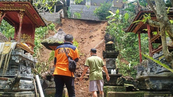 Longsor dan Pohon Tumbang Kepung Karangasem Bali