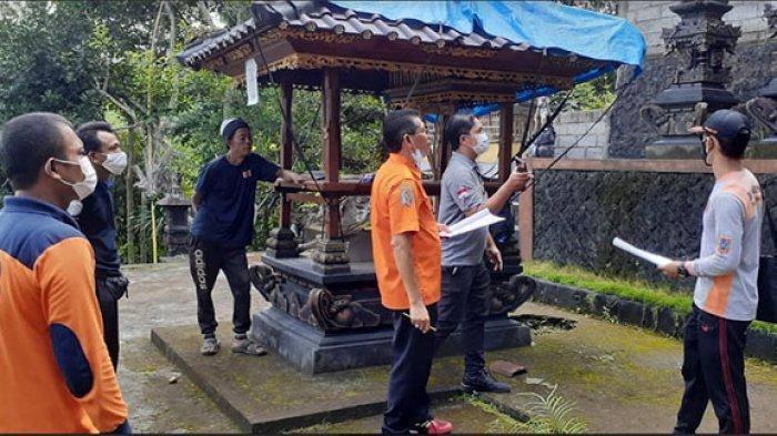 BPBD Provinsi Bali Verifikasi Calon Penerima Bantuan Pasca Bencana di Karangasem