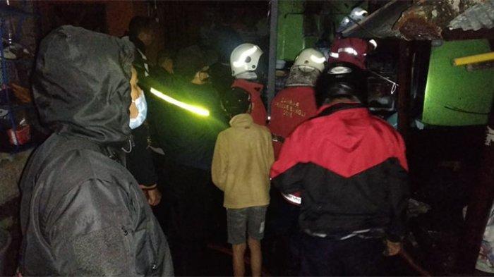 Lupa Matikan Kompor Saat Ditinggal Sembahyang, Dapur Ketut Suleman Ludes Dilalap Api