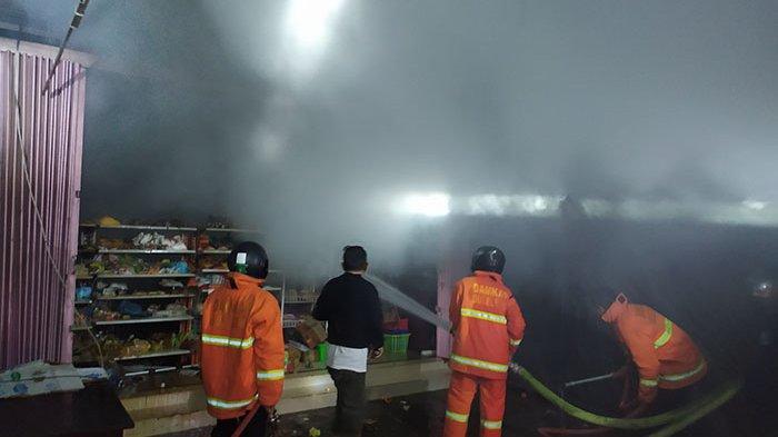 Toko Pakaian dan Aksesoris di Buleleng Terbakar, Dugaan Sementara karena Korsleting Listrik