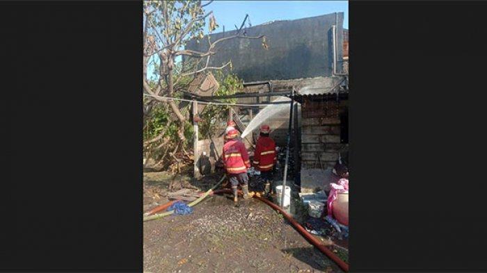 Kebakaran Rumah di Panjer Denpasar, Pemilik Alami Kerugian Puluhan Juta Rupiah