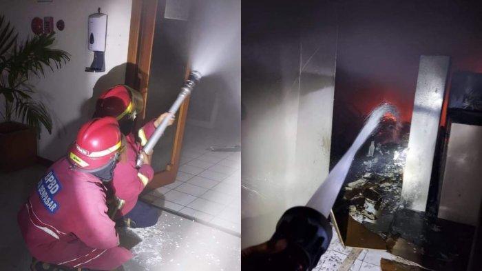 Kantor P3E Bali Nusra Kementerian LHK Bali Kebakaran, BPBD Denpasar Kerahkan Semua Pos